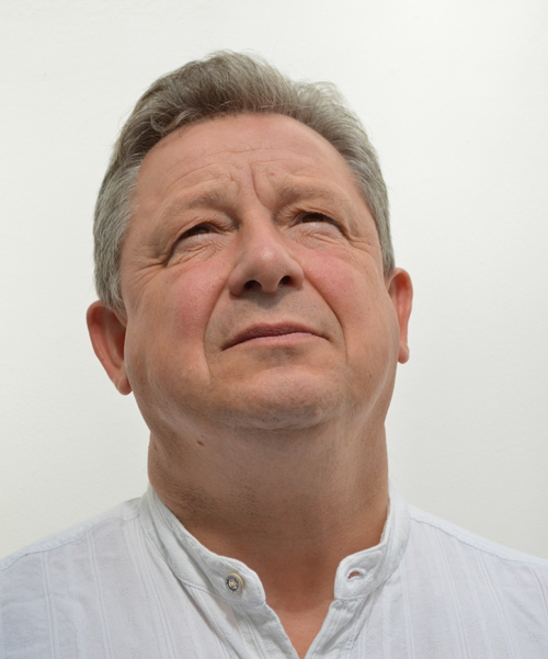 Portrait de l'écrivain Christian Estèbe