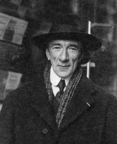 Portrait de l'écrivain André Baillon