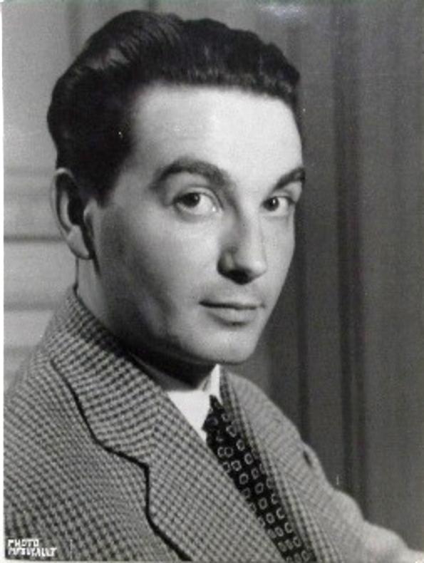 Portrait de l'écrivain Jean Forton