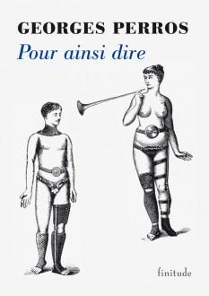 Georges Perros - Pour ainsi dire