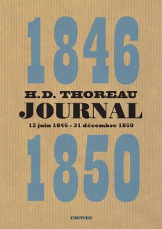 Journal IV (1846-1850), par Henry David Thoreau